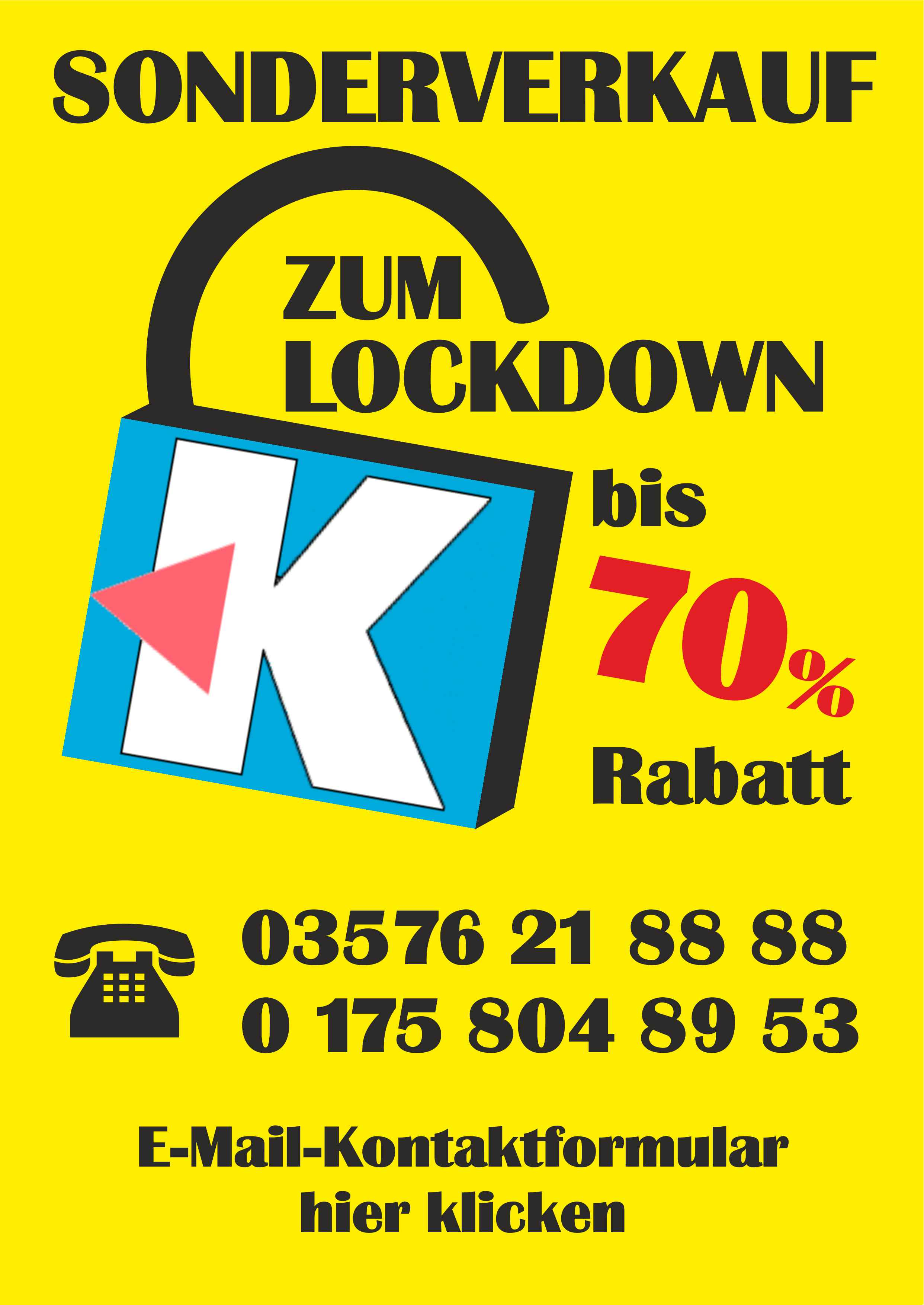 Plakat Lockdown web